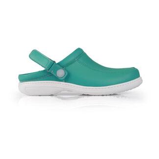 Calçado Profissional Socas em pele Soft Sophia 01 verde