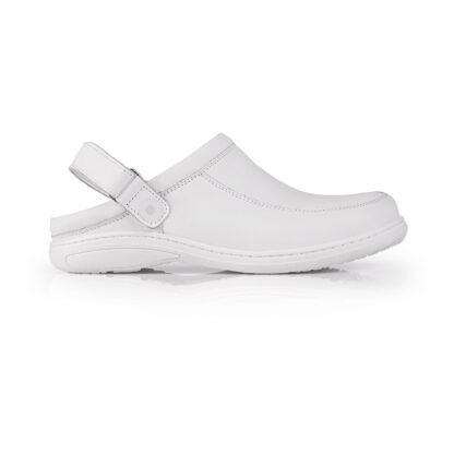 Calçado Profissional Socas em pele soft Sophia 07 branco
