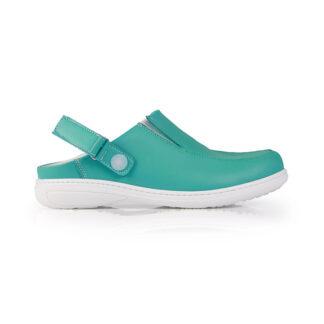 Calçado Profissional Socas em pele soft Candy 01 verde
