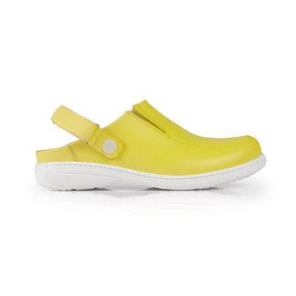 Calçado Profissional Socas em pele soft Candy 09 amarelo